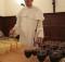 fr. David and wine