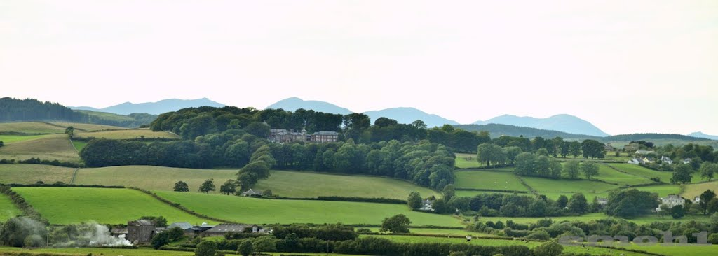 View towards Boarbank Hall