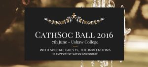 CathSoc Balll 2016